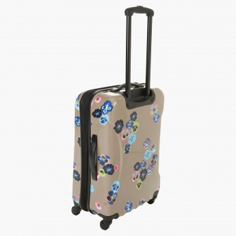 It Printed Trolley Bag - 28 inches