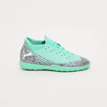 PUMA Textured Lace-Up Football Shoes