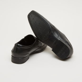 Stitch Detail Loafers with Elasticised Gussets