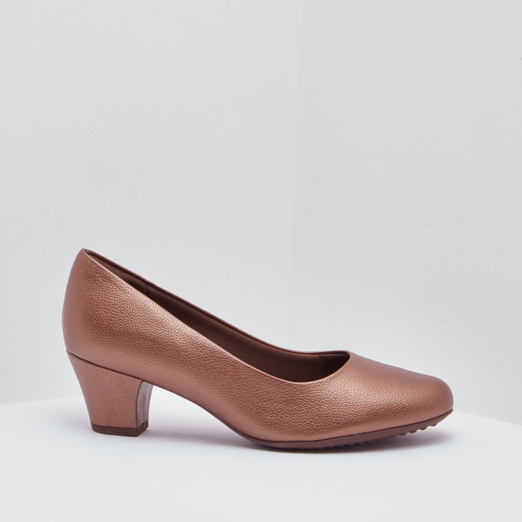 Piccadilly Textured Almond Toe Shoes