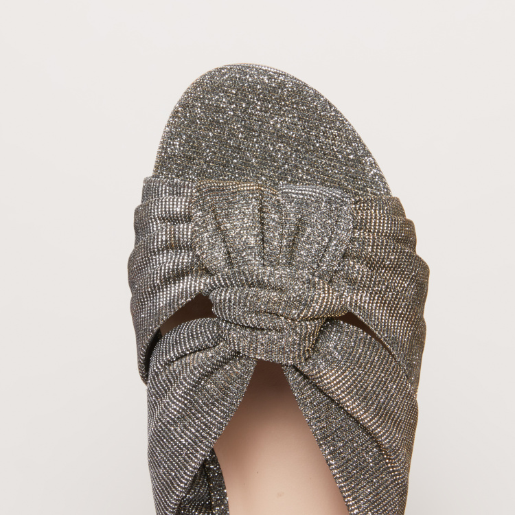 Embellished Knot Detail Slides