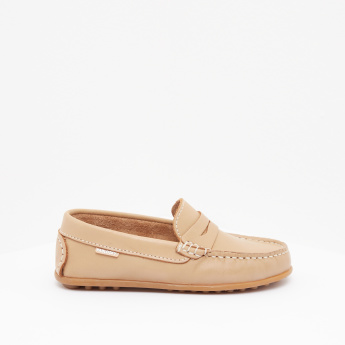 Pablosky Boys' Textured Slip-On Loafers
