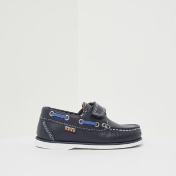 Pablosky Loafers with Hook and Loop Closure