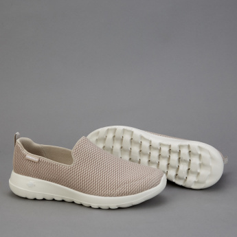 Skechers Mesh Slip-On Walking Shoes