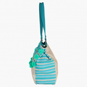 Paprika Striped Handbag