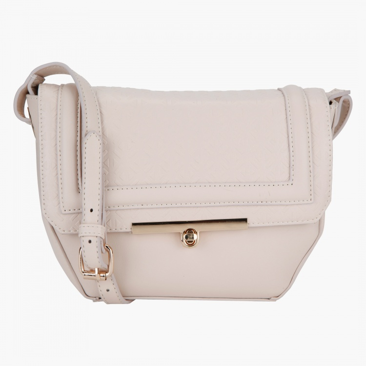Paprika Solid Colour Crossbody Bag