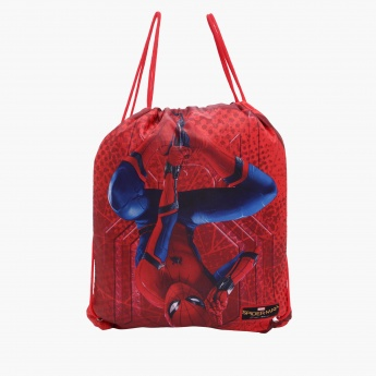 Spider Man Printed Backpack