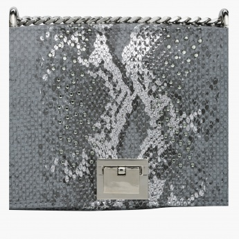 Celeste Textured Hand Bag with Sling