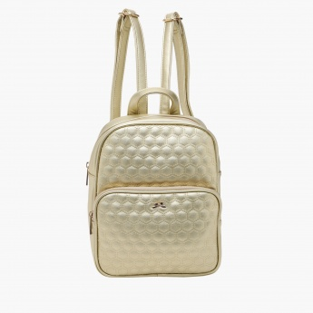 Missy Quilted Backpack with Adjustable Straps