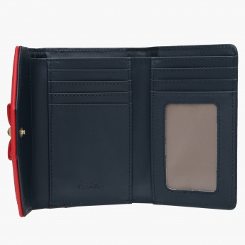 Paprika Wallet with Snap Closure
