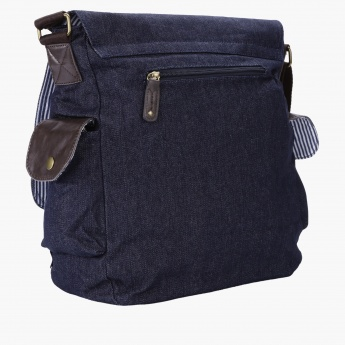 Lee Cooper Textured Messenger Bag