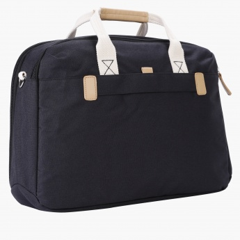 Duchini Laptop Bag with Long Strap and Dual Handles
