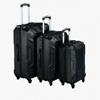Duchini Trolley Bag with Zip Closure - Set of 3
