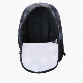 Puma Printed Backpack with Zip Closure