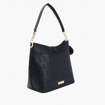 Elle Textured Tote Bag