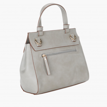 Jane Shilton Textured Handbag with Flap