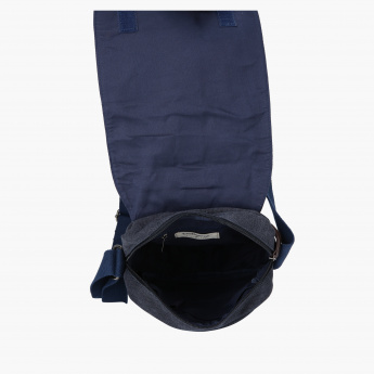 Lee Cooper Messenger Bag with Flap