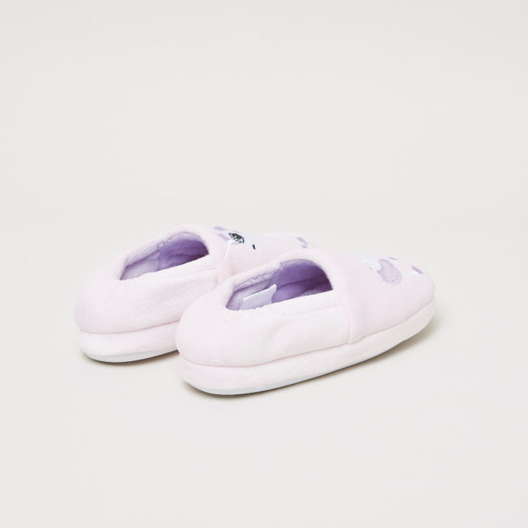 Embroidered Bedroom Shoes