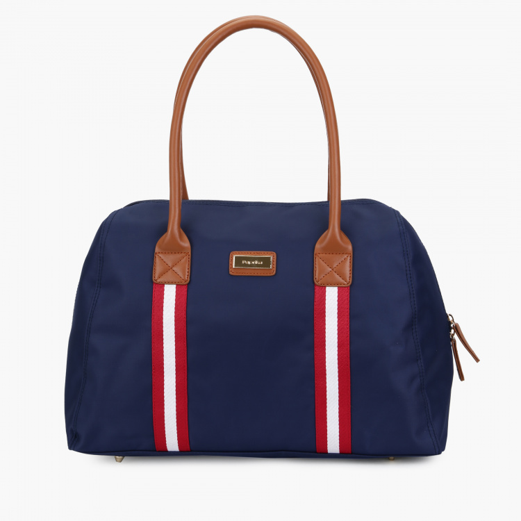 Paprika Duffel Bag with Zip Closure