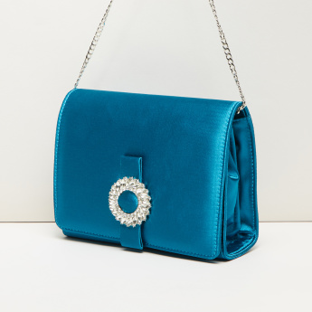Celeste Sling Bag with Metallic Chain