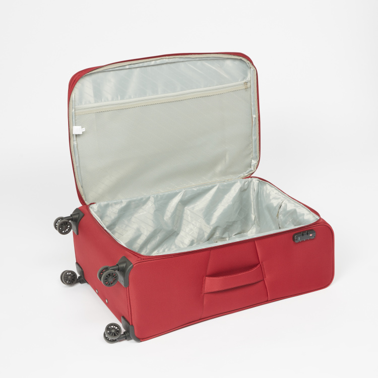 Duchini Soft Case Trolley Bag with Combination Lock