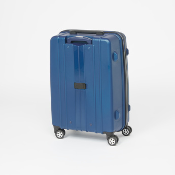 Duchini Textured Hard Case Trolley Bag with Cushion Handle
