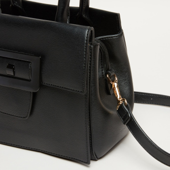 Elle Handbag with Zip and Magnetic Snap Closure