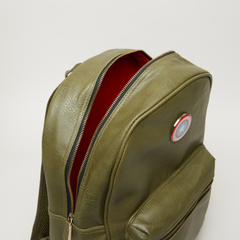 Captain America Textured Backpack