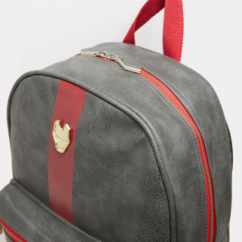Iron Man Textured Backpack