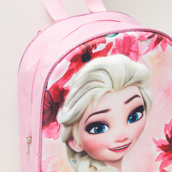 Frozen Printed Backpack with Zip Closure