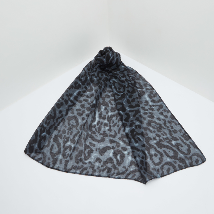 Celeste Animal Printed Scarf