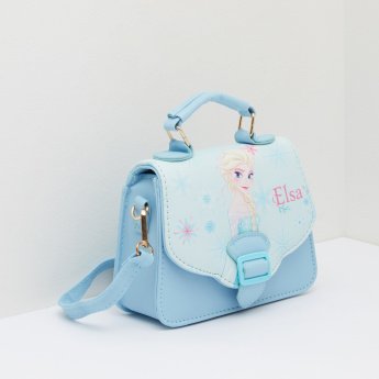 Frozen Printed Satchel Bag