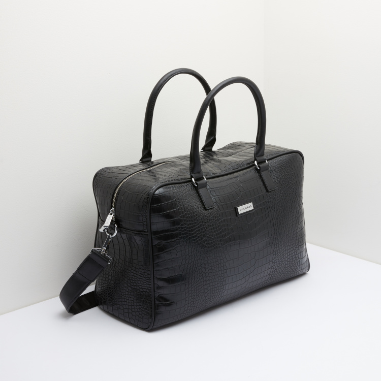 Duchini Textured Duffel Bag
