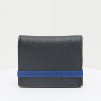 Lee Cooper Textured Wallet with Elasticised Strap