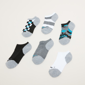 Skechers Assorted Ankle Length Socks - Set of 6