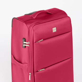 Duchini Soft Case 360 Spinner Trolley Bag with Combination Lock