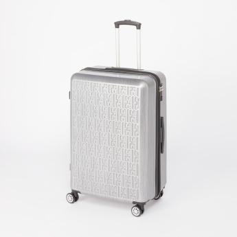 ELLE Textured Travelling Bag with Spinner Wheels