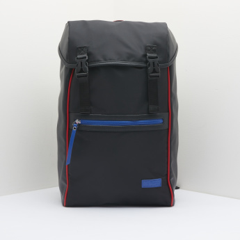 Lee Cooper Messenger Bag with Buckle Closure