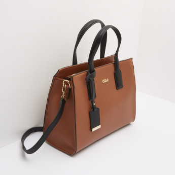Celeste Handbag with Zip Closure