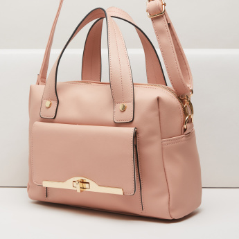 Celeste Bowler Bag with Twin Handles