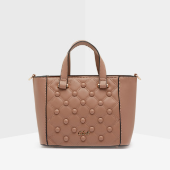 Celeste Quilted Mini Tote Bag