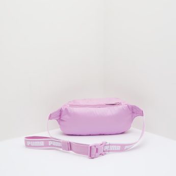 PUMA Fanny Pack with Printed Adjustable Strap
