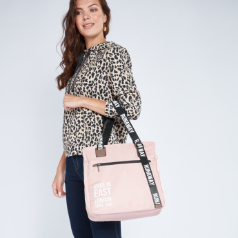 Lee Cooper Printed Tote Bag
