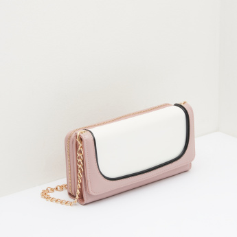 Celeste Flap Over Wallet with Detachable Sling