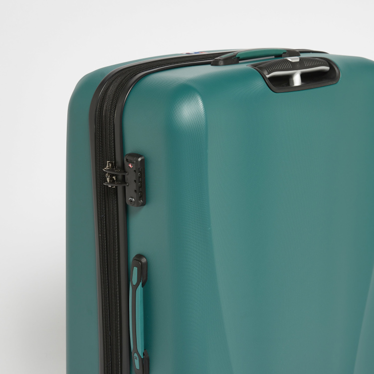 IT Hard Case Luggage Bag with Tape Detail