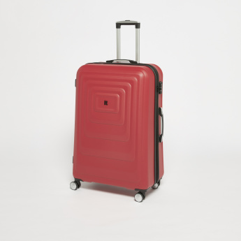 IT Textured Hard Case Luggage Bag