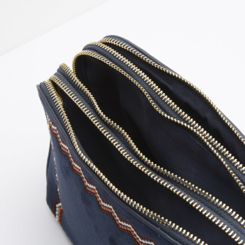 Celeste Embroidered Crossbody Bag
