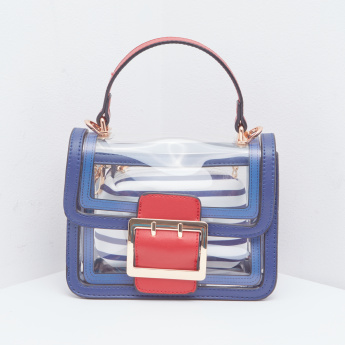 Missy Nautical Crossbody Bag with Additional Pouch