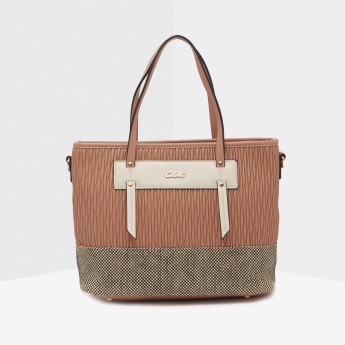 Celeste Quilted Tote Bag