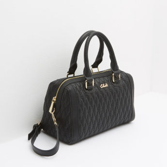 Celeste Quilted Crossbody Bag with Zip Closure